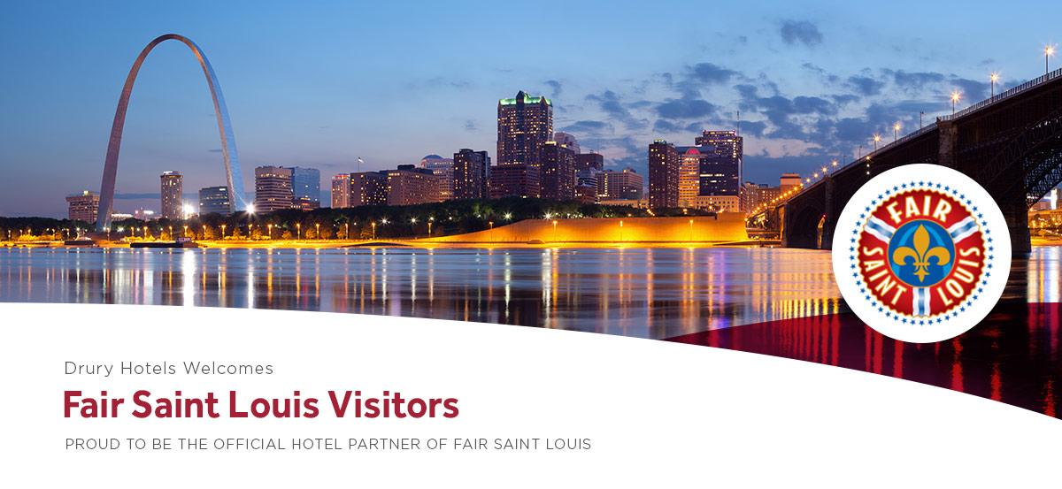 Drury Hotels Welcomes Fair Saint Louis Visitors