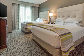 Drury Hotels room with two queen beds