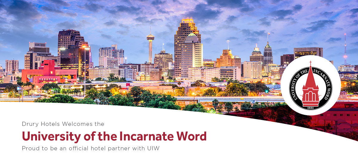 Drury Hotels welcomes the University of the Incarnate Word