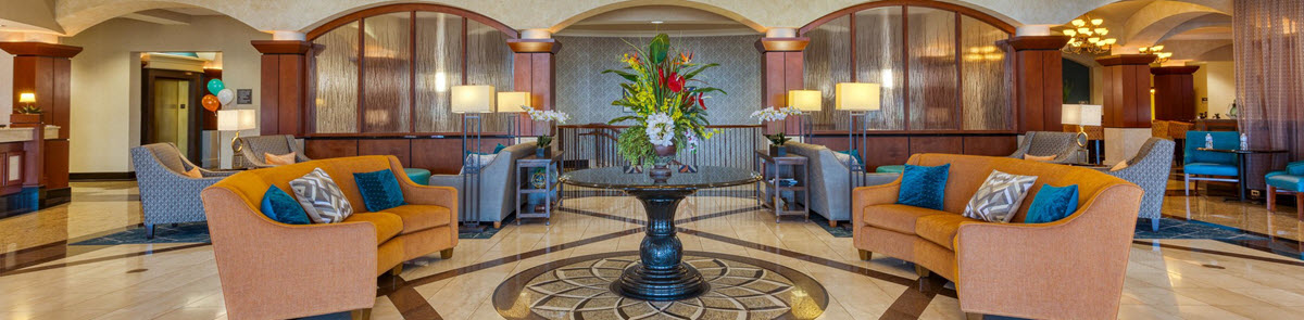 Drury Plaza Hotel St. Louis Chesterfield Lobby
