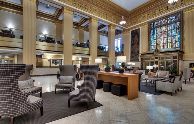 Drury Plaza Hotel San Antonio Riverwalk - Lobby