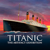 Titanic:  The Artifact Exhibition Logo