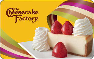 $50 The Cheesecake Factory Gift Card