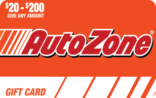 $50 Autozone Gift Card