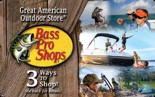 $50 Bass Pro Shops Gift Card