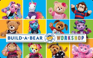 $50 Build a Bear Gift Card