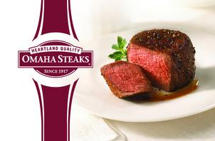 $50 Omaha Steaks Gift Card