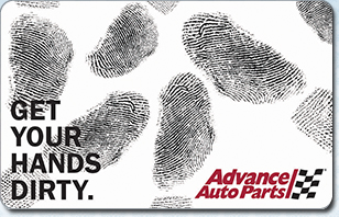 $50 Advance Auto Parts Gift Card