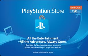 $50 Playstation Gift Card